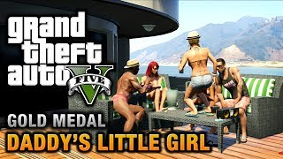GTA 5 - GTA 5 Missions - Daddy's Little Girl [100% Gold Medal Walkthrough]