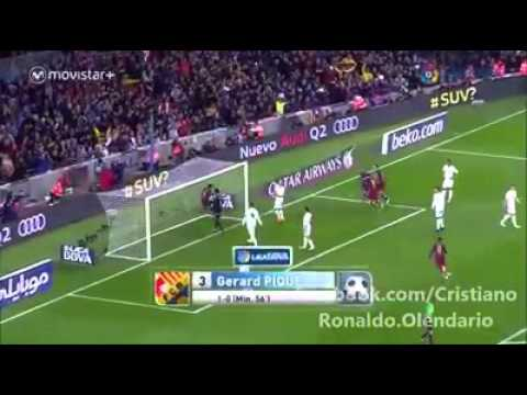 Reactions from Shakira with the goals of `El Clásico` #LOL!