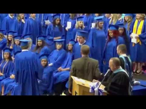 Hoopeston Area High School Commencement Presentation of Diplomas