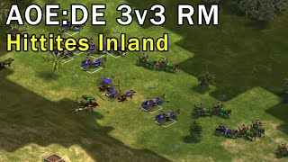 Age of Empires: Definitive Edition - 3v3 RM Hittites - eartahhj - 16/04/2018