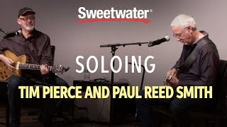 Live At Sweetwater Soloing With Tim Pierce And Paul Reed Smith