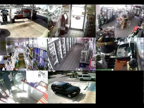 Valero Gas Station Robbery.mpg