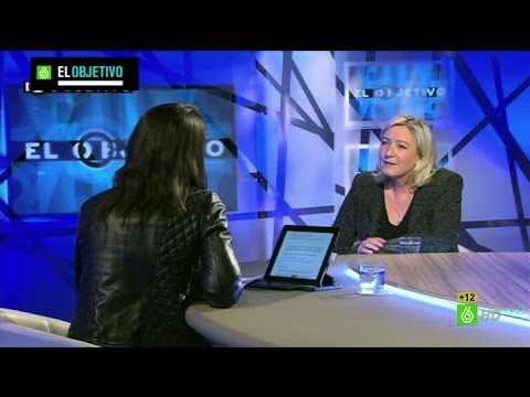 El Intermedio - Marine Le Pen: