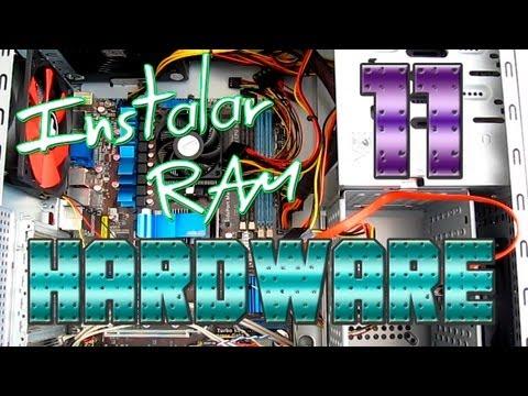 Componentes - Como instalar una Memoria Ram DDR3
