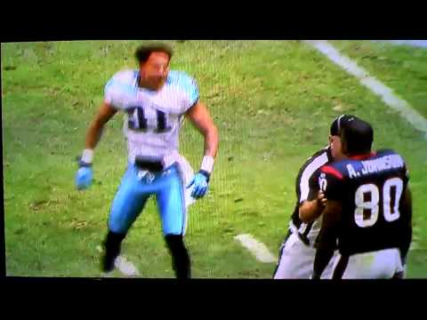 [HD] Cortland Finnegan and Andre Johnson Fight! Football Fight!