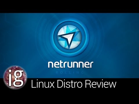 Netrunner Rolling Review - Linux Distro Reviews