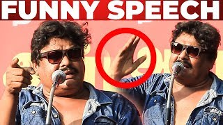Mansoor Ali Khan Funny Speech