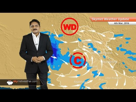Weather Forecast for March 04: Rain belt will shift to north India