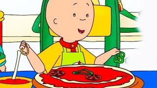 🍕Caillou | Caillou maakt een grote pizza | Nieuwe Hele Caillou Afleveringen | Nederlands Gesproken 🍕
