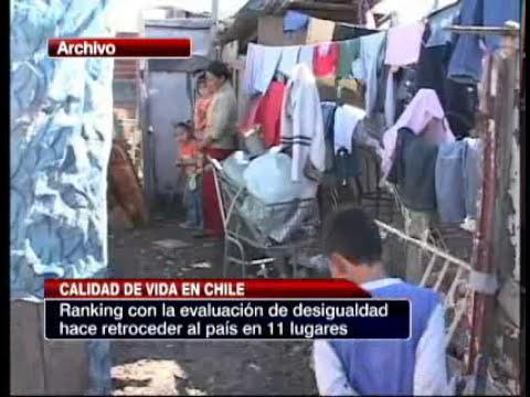 La calidad de vida en Chile
