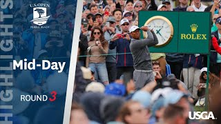 2019 U.S. Open, Round 3: Mid-Day Highlights