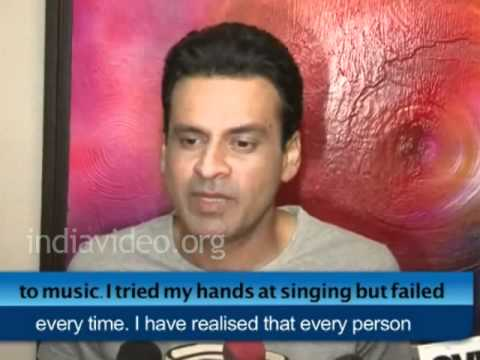 Manoj Bajpai believes painters and singers are born with the talent