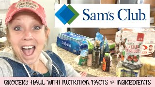 SAM'S CLUB HEALTHY GROCERY HAUL // CLEANER & HEALTHIER FINDS AT SAM'S CLUB