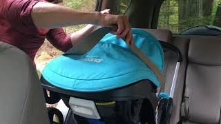 Doona Seat Install with Euro Clip (without the base)