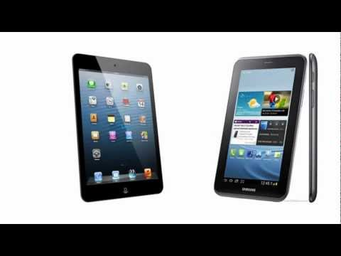 Apple iPad mini Wi-Fi + Cellular vs Samsung Tablet 2 7.0 P3100, all features