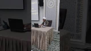 Ustaz Mohd Hanif Bin Mohd Salleh - Ceramah Khas Sifat Solat Nabi Yang Sohih