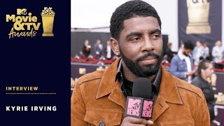 Kyrie Irving on His Apology to Kehlani | 2018 MTV Movie + TV Awards