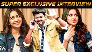 """I Want to Work With Thalapathy Vijay"", He Is Evergreen & Looks the Same – Rakul Preet Opens Up !!"