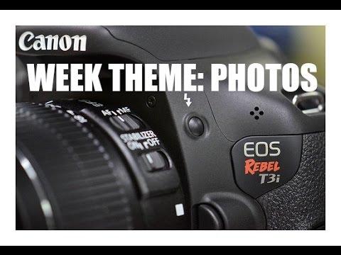 WEEK THEME: Photos