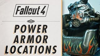 Fallout 4 - Power Armor Locations
