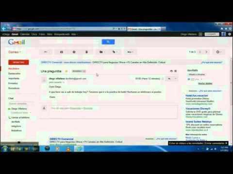 Como usar Gmail