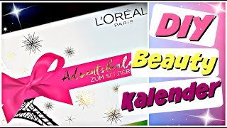 L'Oréal Paris Adventskalender 2018 | Beauty DIY Adventskalender zum selber machen