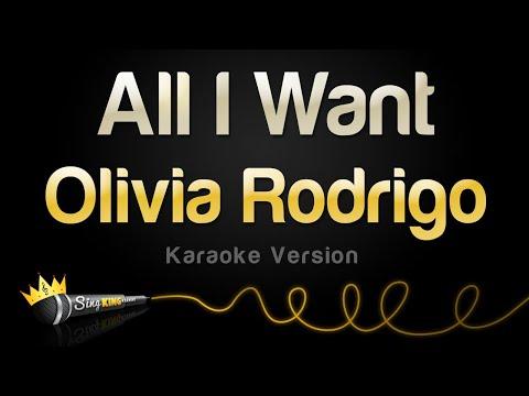 Download  Olivia Rodrigo - All I Want Karaoke Version Gratis, download lagu terbaru