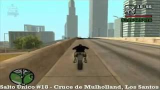 GTA San Andreas - Salto Único #18 Cruce de Mulholland, Los Santos - MQ