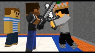 [Minecraft Animation] Player School Special: Students VS RexTheGamer