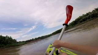 Travesía en kayak rio san francisco jujuy argentina gopro session hd