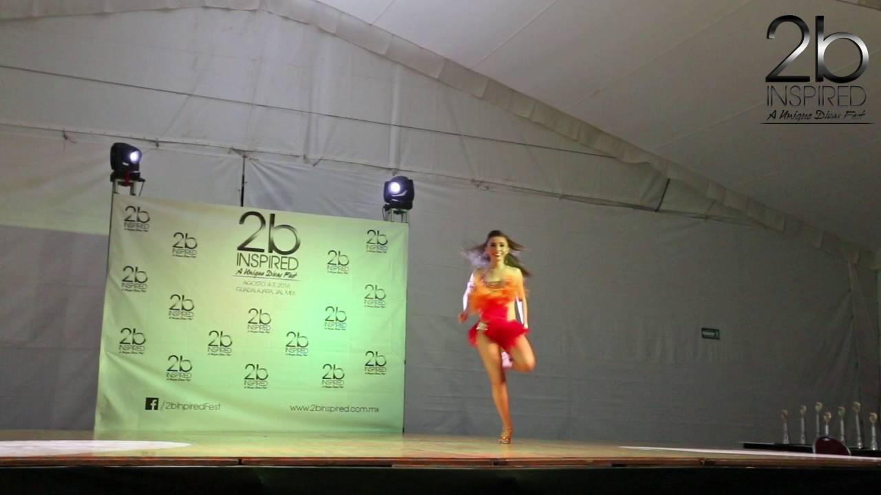 Jane Fernandez | 1er Lugar Salsa Soloista Abierta | 2b Inspired 2016