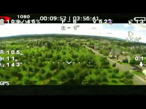 FatShark FPV Goggles DVR  Review Test - DVR Dominator V2 Headset DJI 1080P