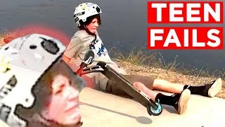 FUNNY TEENAGER FAILS!! | Candid And Viral Teen Fails And Bloopers From IG, FB And More | Mas Supreme