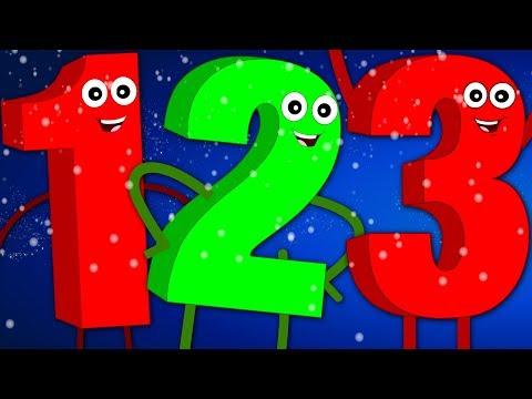 Ten Little Numbers | The Numbers Song | Learn Numbers 123 | Baby Songs For Children