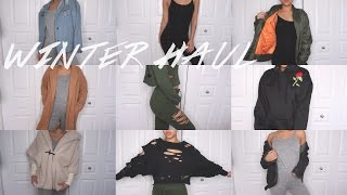 TRY- ON WINTER CLOTHING HAUL! Maria Bethany