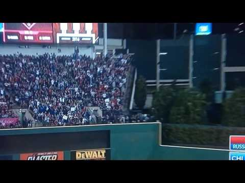 Addison Russell Grand Slam Cubs Indians LIVE Full HD World Series Game 6