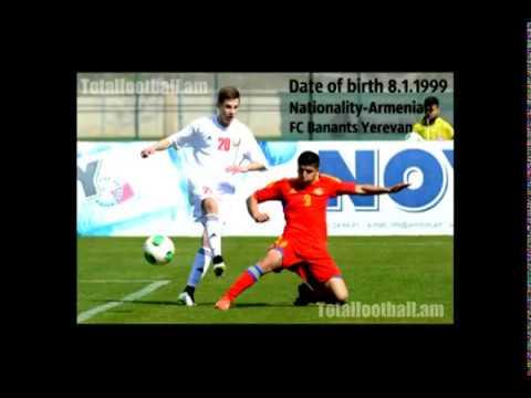 Abraham Portugalyan●FC Banants●Armenia U17●2014-15