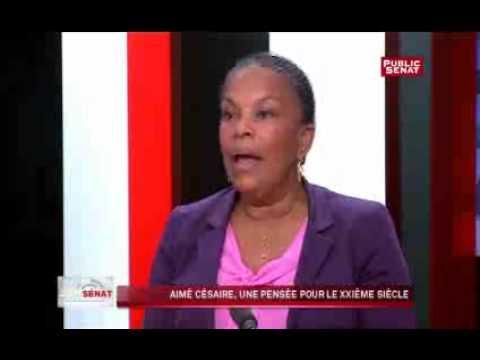 Christiane Taubira s'exprime sur Aimé Césaire