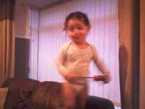Jaidi Dancing To Basshunter now Your Gone video