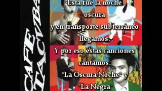 Download Lagu Caf Tacuba   Noche Oscura Gratis STAFABAND