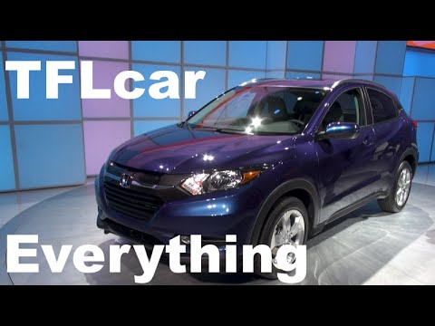 2016 Honda HR-V: Almost Everything You Ever Wanted to Know