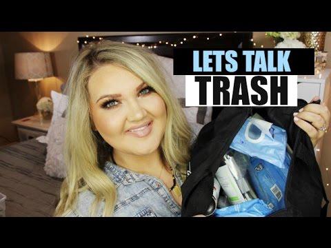 LET'S TALK TRASH   BEAUTY EMPTIES + MINI REVIEWS  2017