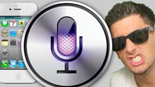iPhone 4s Siri FUNNY REACTIONS - BFVSGF