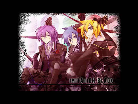 【Kamui Gakupo, KAITO, Kagamine Len】Imitatiton Black + MP3 + LYRICS + TRADUCCION