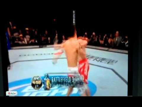 Chan Sung Jung KO's Mark Hominick at UFC140 record