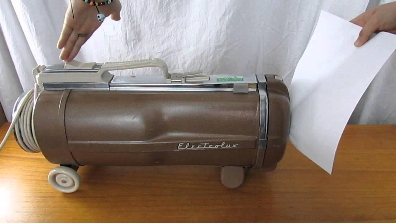Vintage Electrolux Vacuum Vintage Electrolux Automatic
