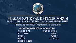 2019 Ronald Reagan National Defense Forum — Presidential Learning Center Stream