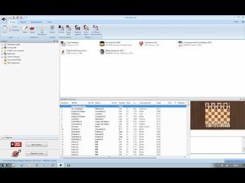 Opening Encyclopedia 2011 Installing via Chessbase Part 1