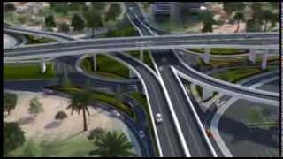 New 3-tier Kwame Nkrumah Circle Interchange.