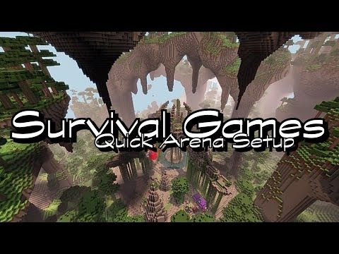 Survival Games | 1.7.4 Bukkit Plugin | HungerGames | German | HD